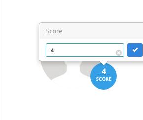 Alteraçao Score